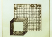Untitled_brass-sheet-silver-brass-glass_1987_40x40